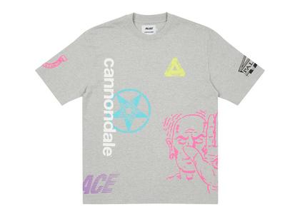 Palace x Cannondale Mad Boy T-shirt Grey Marl (FW21)の写真