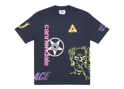 Palace x Cannondale Mad Boy T-shirt Navy (FW21)の写真