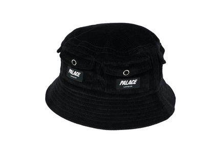 Palace Storage Bucket Hat Black (FW21)の写真