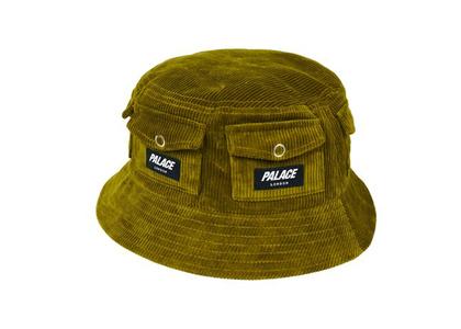 Palace Storage Bucket Hat Olive (FW21)の写真