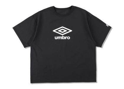 umbro × WIND AND SEA Reversible T-Shirt Blackの写真