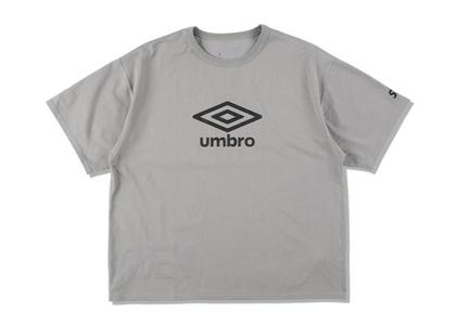 umbro × WIND AND SEA Reversible T-Shirt Grayの写真