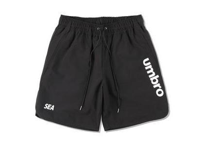 umbro × WIND AND SEA Practice Shorts Blackの写真