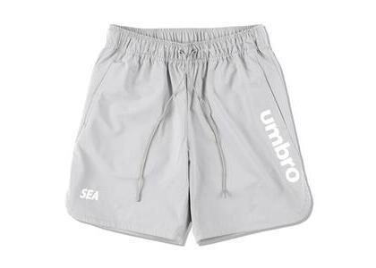 umbro × WIND AND SEA Practice Shorts Grayの写真