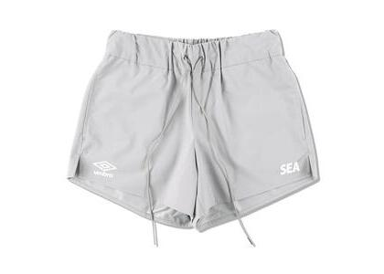 umbro × WIND AND SEA Game Shorts Grayの写真