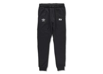umbro × WIND AND SEA Jogger Pants Blackの写真
