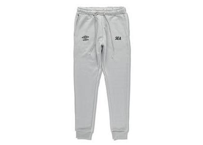 umbro × WIND AND SEA Jogger Pants Grayの写真
