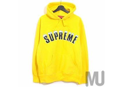 Supreme Icy Arc Hooded Sweatshirt Yellowの写真