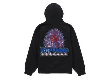 Supreme Pharaoh Studded Hooded Sweatshirt Blackの写真