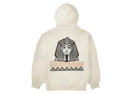 Supreme Pharaoh Studded Hooded Sweatshirt Naturalの写真
