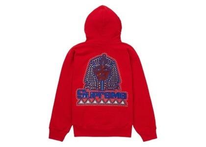 Supreme Pharaoh Studded Hooded Sweatshirt Redの写真