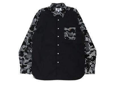 Bape × Comme des Garcons Osaka Poplin Shirt Black (FW21)の写真