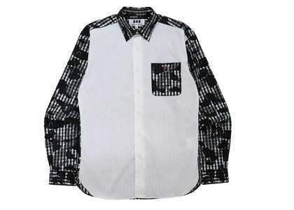 Bape × Comme des Garcons Osaka Poplin Shirt White (FW21)の写真