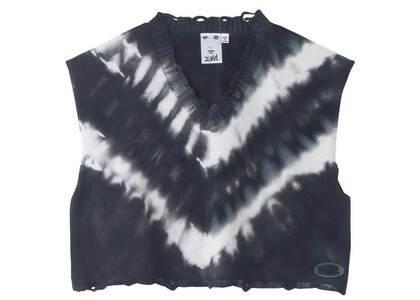 X-girl Tie Dye Knit Vest Blackの写真