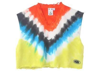 X-girl Tie Dye Knit Vest Orangeの写真