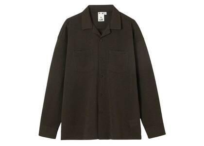 X-girl Jacquard Jersey L/S Shirt Brownの写真