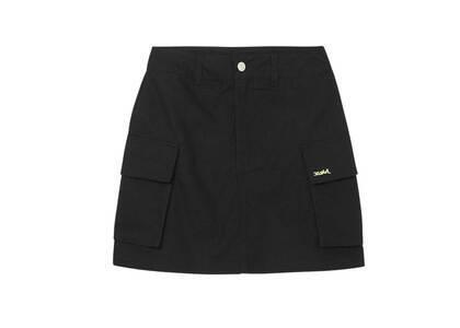 X-girl Military Cargo Mini Skirt Blackの写真