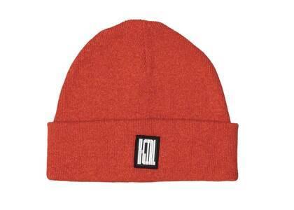 X-girl Melange Knit Cap Orangeの写真