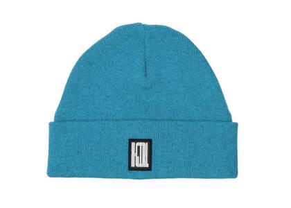 X-girl Melange Knit Cap Blueの写真