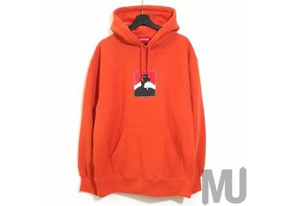 Supreme Portrait Hooded Sweatshirt (FW20) Burnt Orangeの写真