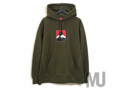 Supreme Portrait Hooded Sweatshirt (FW20) Dark Oliveの写真