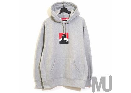 Supreme Portrait Hooded Sweatshirt (FW20) Heather Greyの写真