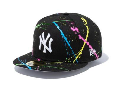 New Era 59FIFTY Streakpop New York Yankees Gray Under Visor Blackの写真