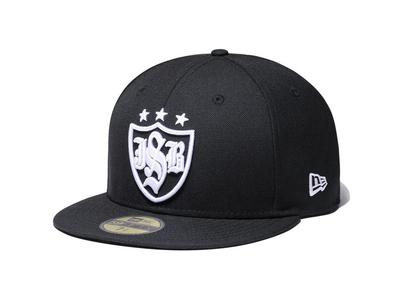 New Era 59FIFTY Yomiuri Giants × J.S.B. × NEW ERA Shield Logo Blackの写真