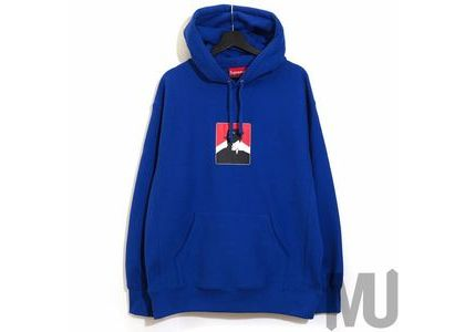 Supreme Portrait Hooded Sweatshirt (FW20) Royalの写真