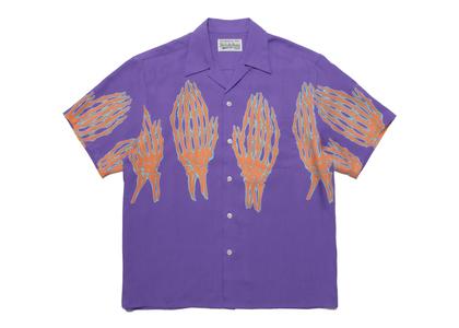 WACKO MARIA Hawaiian Shirt Purpleの写真