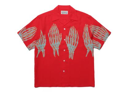 WACKO MARIA Hawaiian Shirt Redの写真