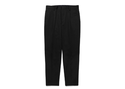 WACKO MARIA T/C Pleated Trousers (Type-1) Blackの写真