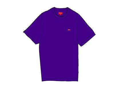 Supreme Small Box Tee (FW20) Purpleの写真