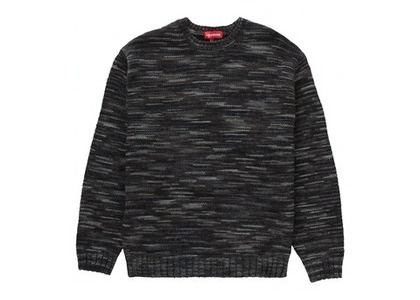 Supreme Static Sweater Blackの写真