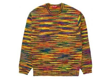 Supreme Static Sweater Multicolorの写真