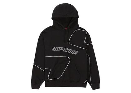 Supreme Big S Hooded Sweatshirt Blackの写真