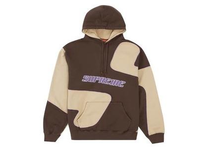 Supreme Big S Hooded Sweatshirt Brownの写真