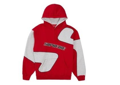 Supreme Big S Hooded Sweatshirt Redの写真