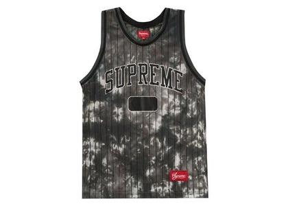 Supreme Dyed Basketball Jersey Blackの写真