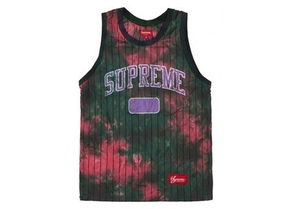 Supreme Dyed Basketball Jersey Greenの写真