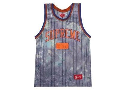 Supreme Dyed Basketball Jersey Royalの写真