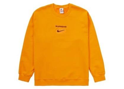 Supreme Nike Jewel Crewneck Orangeの写真