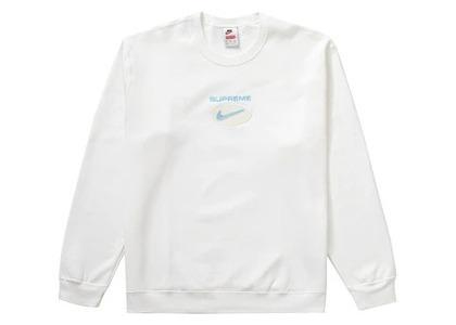 Supreme Nike Jewel Crewneck Whiteの写真