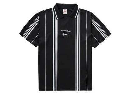 Supreme Nike Jewel Stripe Soccer Jersey Blackの写真