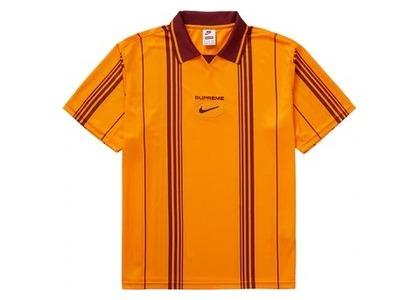 Supreme Nike Jewel Stripe Soccer Jersey Orangeの写真