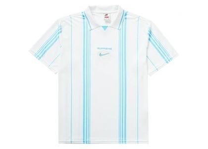 Supreme Nike Jewel Stripe Soccer Jersey Whiteの写真