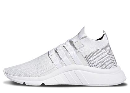 adidas EQT Support Mid ADV PK White Greyの写真