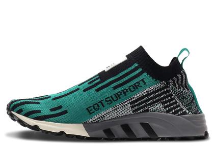 adidas EQT Support Sock Core Black Sub Greenの写真
