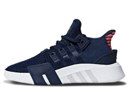 adidas EQT Basketball Adv Collegiate Navy Real Coralの写真