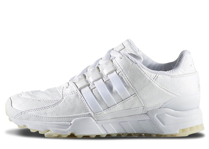 adidas EQT Running Support 93 Triple White Tumbled Leatherの写真